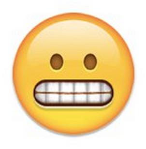 Grimmace Emoji